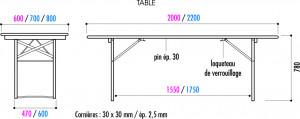 Table et banc pour terrasse - Devis sur Techni-Contact.com - 2