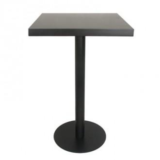 Table haute cafétéria en bois plaqué - Devis sur Techni-Contact.com - 1