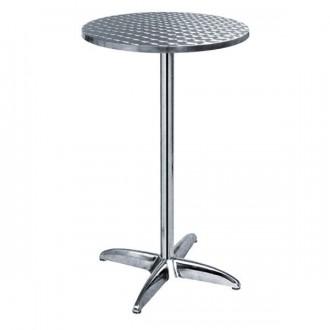 Table haute ronde en inox - Devis sur Techni-Contact.com - 1