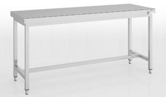 Table inox centrale ou adossée Largeur 2400 mm - Devis sur Techni-Contact.com - 1