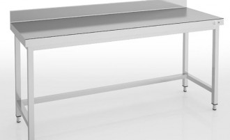 Table inox centrale ou adossée Largeur 2400 mm - Devis sur Techni-Contact.com - 2