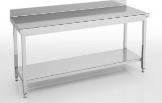 Table inox centrale ou adossée Largeur 2400 mm - Devis sur Techni-Contact.com - 3