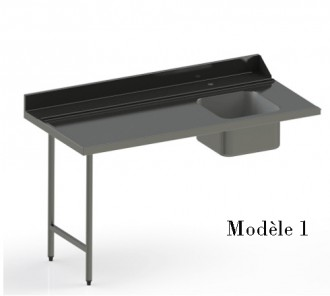 Table inox d'entrée - Devis sur Techni-Contact.com - 1