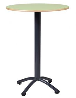 Table mange debout cantine - Devis sur Techni-Contact.com - 1