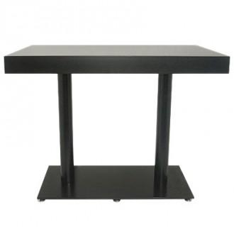 Table mange debout rectangulaire - Devis sur Techni-Contact.com - 1