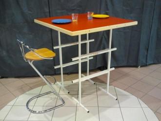 Table mange debout sur tréteaux - Devis sur Techni-Contact.com - 1