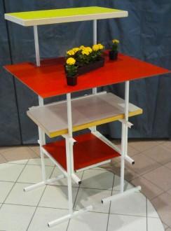 Table mange debout sur tréteaux - Devis sur Techni-Contact.com - 6
