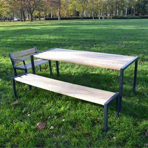 Table pique nique bois acier - Devis sur Techni-Contact.com - 2