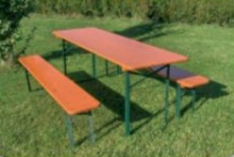 Table pique nique bois pliante - Devis sur Techni-Contact.com - 1