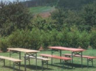 Table pique nique bois pliante - Devis sur Techni-Contact.com - 2