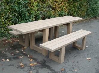 Table pique-nique pour personnes à mobilité réduite - Devis sur Techni-Contact.com - 2
