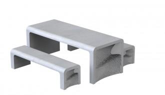 Table pique-nique sans scellement - Devis sur Techni-Contact.com - 1