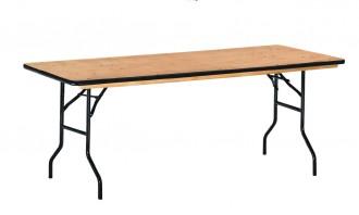 Table pliante en bois exotique - Devis sur Techni-Contact.com - 1