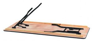 Table pliante en bois exotique - Devis sur Techni-Contact.com - 2