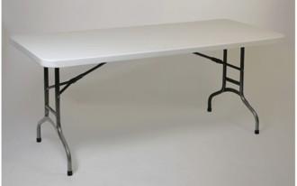 Table pliante en polyéthylène pour 6 personnes - Devis sur Techni-Contact.com - 1