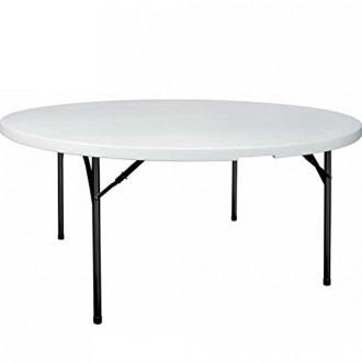 Table pliante ronde de collectivité - Devis sur Techni-Contact.com - 1
