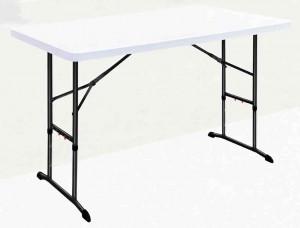 Table rectangulaire à hauteur réglable en polyéthylène - Devis sur Techni-Contact.com - 1