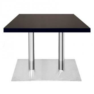 Table rectangulaire en bois plaqué - Devis sur Techni-Contact.com - 1