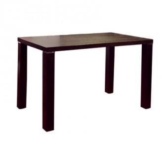 Table rectangulaire en bois plaqué wengé 110x60 cm - Devis sur Techni-Contact.com - 1