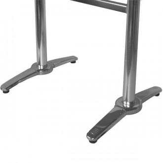 Table rectangulaire terrasse alu inox - Devis sur Techni-Contact.com - 2