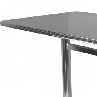 Table rectangulaire terrasse alu inox - Devis sur Techni-Contact.com - 3