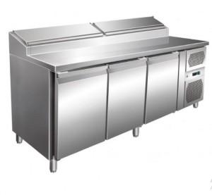 Table réfrigérée à sandwich 3 portes - Devis sur Techni-Contact.com - 1
