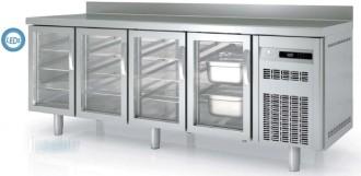 Table réfrigérée avec porte vitrée - Devis sur Techni-Contact.com - 1