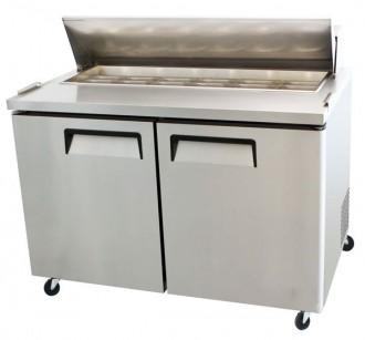 Table réfrigérée de préparation à 2 portes - Devis sur Techni-Contact.com - 1