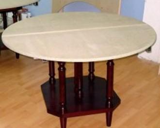 Table ronde à rallonge - Devis sur Techni-Contact.com - 1