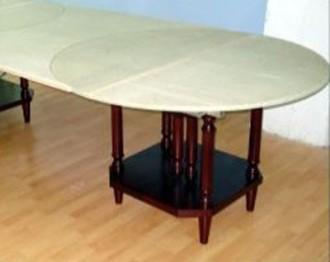 Table ronde à rallonge - Devis sur Techni-Contact.com - 2