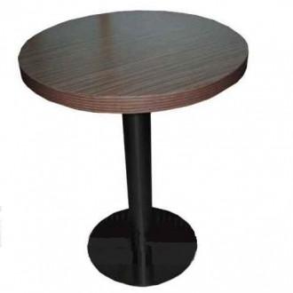 Table ronde en bois pour bar - Devis sur Techni-Contact.com - 1