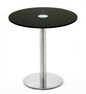 Table ronde en verre trempé - Devis sur Techni-Contact.com - 1
