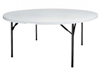 Table ronde pliante de collectivité - Devis sur Techni-Contact.com - 1