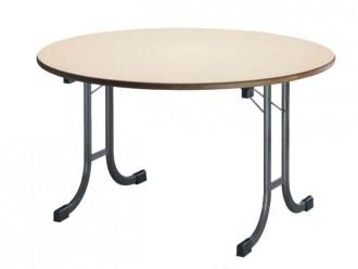 Table ronde pliante empilable - Devis sur Techni-Contact.com - 1