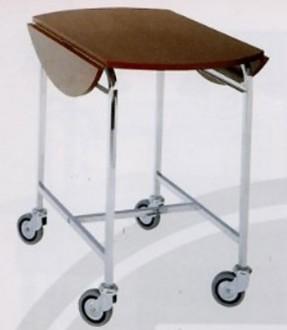 Table room service à bords rabattables - Devis sur Techni-Contact.com - 1