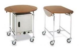 Table room service à bords rabattables - Devis sur Techni-Contact.com - 2