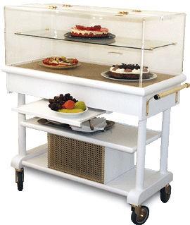 Table roulante réfrigérée avec compresseur - Devis sur Techni-Contact.com - 2