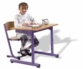 Table scolaire monoplace / biplace - Devis sur Techni-Contact.com - 2