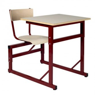 Table scolaire à siège attenant - Devis sur Techni-Contact.com - 1