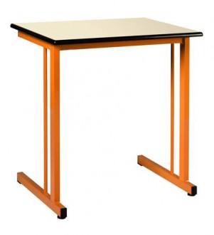 Table scolaire fixe stratifié - Devis sur Techni-Contact.com - 1