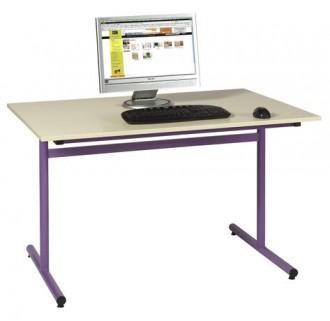 Table scolaire informatique fixe - Devis sur Techni-Contact.com - 1