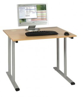 Table scolaire informatique individuelle - Devis sur Techni-Contact.com - 1