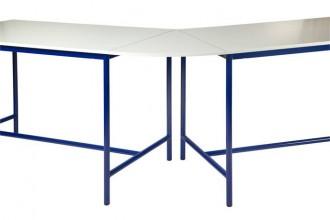 Table scolaire plateau de jonction angle 45° - Devis sur Techni-Contact.com - 1
