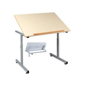 Table scolaire pour PMR Plateau inclinable - Devis sur Techni-Contact.com - 1