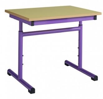 Table scolaire rectangulaire réglable - Devis sur Techni-Contact.com - 1