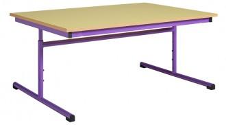 Table scolaire rectangulaire réglable - Devis sur Techni-Contact.com - 2