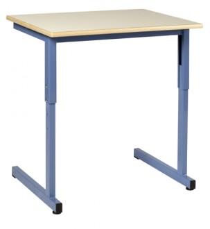Table scolaire réglable à dégagement latéral - Devis sur Techni-Contact.com - 1