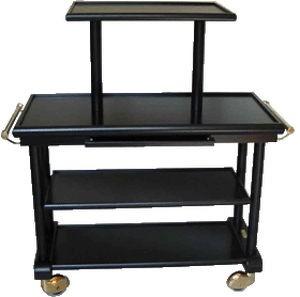 Table se service en bois 3 plateaux - Devis sur Techni-Contact.com - 1