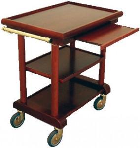 Table se service en bois 3 plateaux - Devis sur Techni-Contact.com - 2
