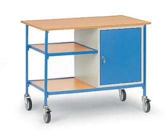 Table servante sur roues pivotantes charge 150 kg - Devis sur Techni-Contact.com - 2